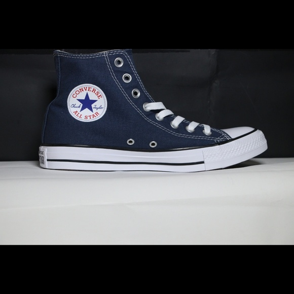 Converse Classic Navy Blue All Star High Top NWT
